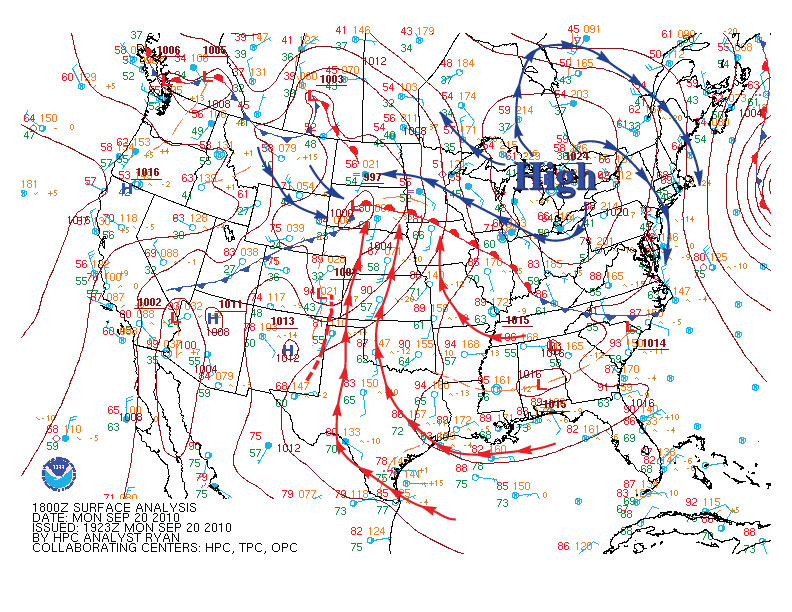 Us Surface Map Forecast Globalinterco - Us surface map forecast